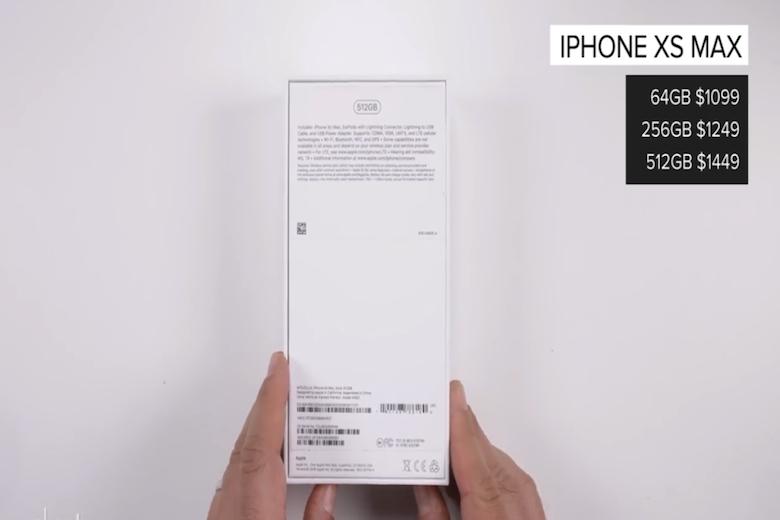 thông số và giá của iPhone XS Max