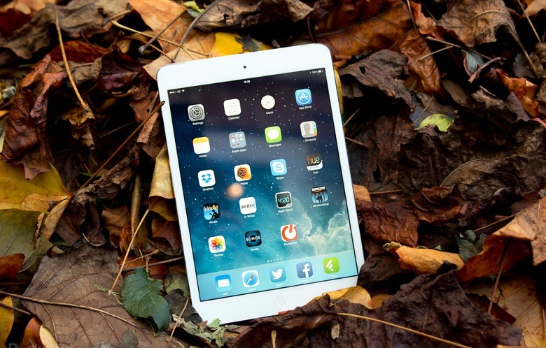 Thiết kế của iPad Mini 2 cũ