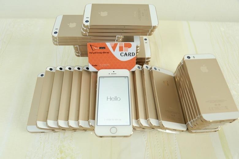 iphone 5s màu vàng tại viettablet