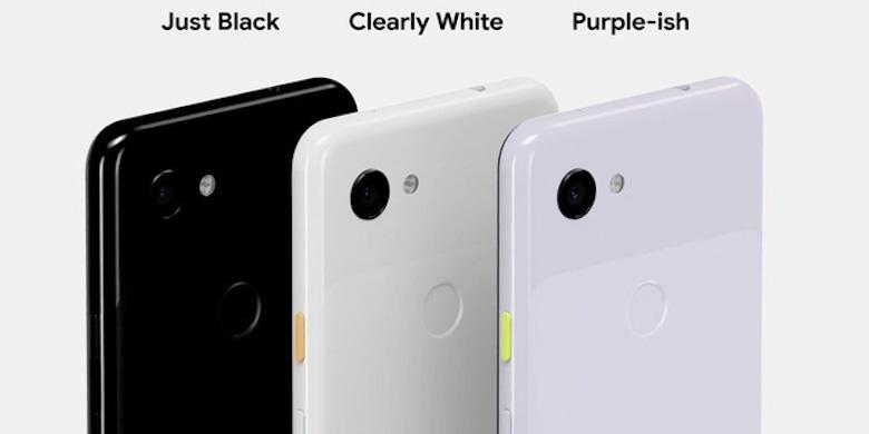 màu sắc google pixel 3a và 3axl