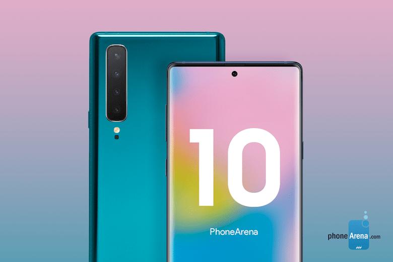 note 10 sẽ có 4 camera