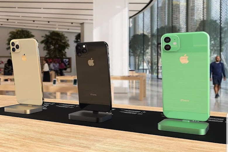 iphone 2019 hình ảnh demo