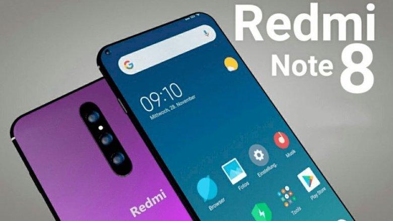 redmi note 8 hình ảnh demo