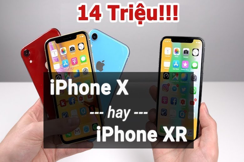 iphone xr và iphone x