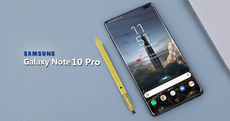 samsung galaxy note 10 sẽ có màn hình đục lỗ