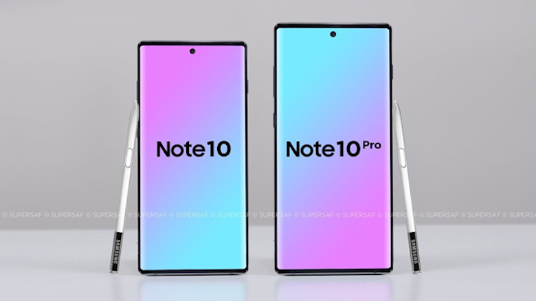 samsung galaxy note 10 sẽ có 2 phiên bản