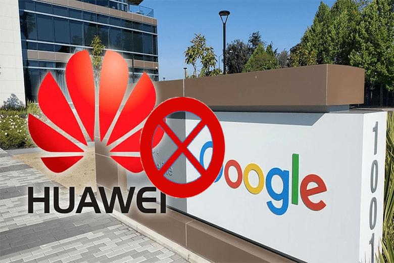 google cấm vận huawei