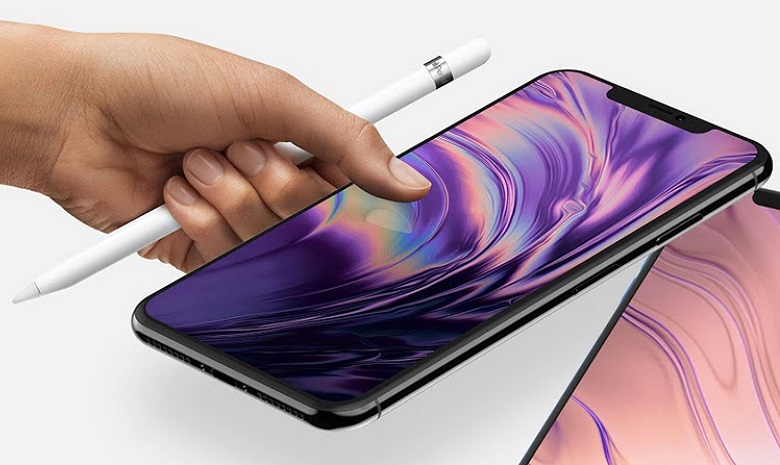 bút Apple Pencil trên iPhone 2018