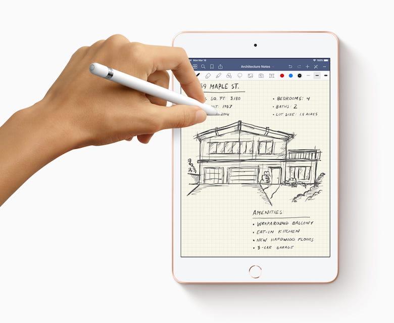 ipad mimi 5 cải tiến với nhiều tính năng khác nhau