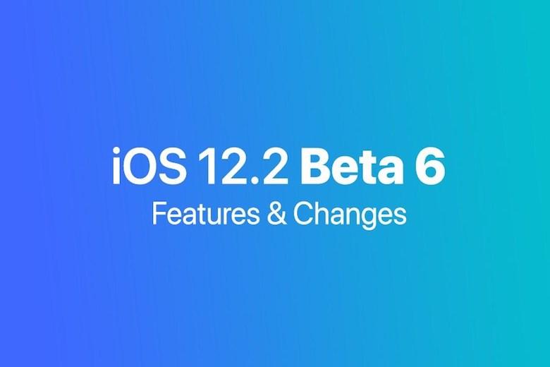 ios 12.2. beta 6