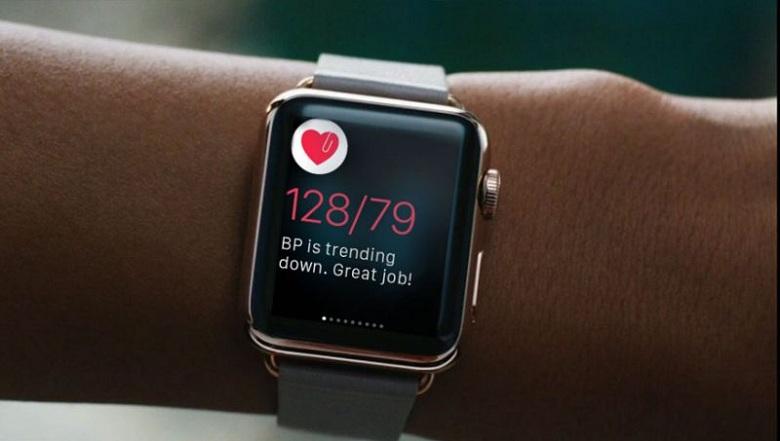 apple watch theo dõi tình hình sức khoẻ