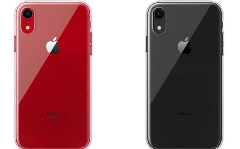 mẫu ốp lưng trong suốt của iphone xr