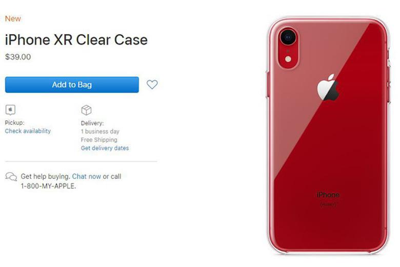 giá ốp lưng của iphone xr