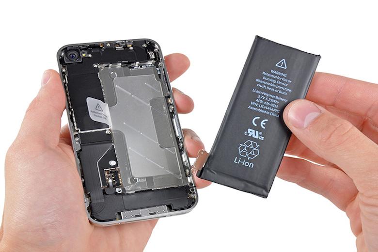 pin của iphone là pin lion