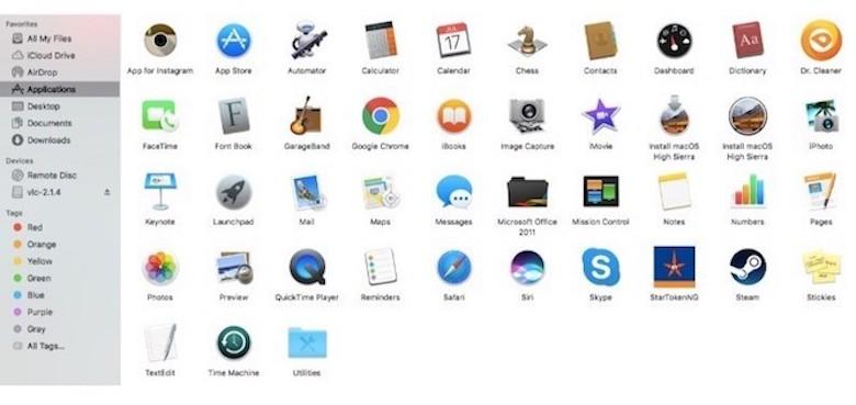 xoá ứng dụng rác trong macbook