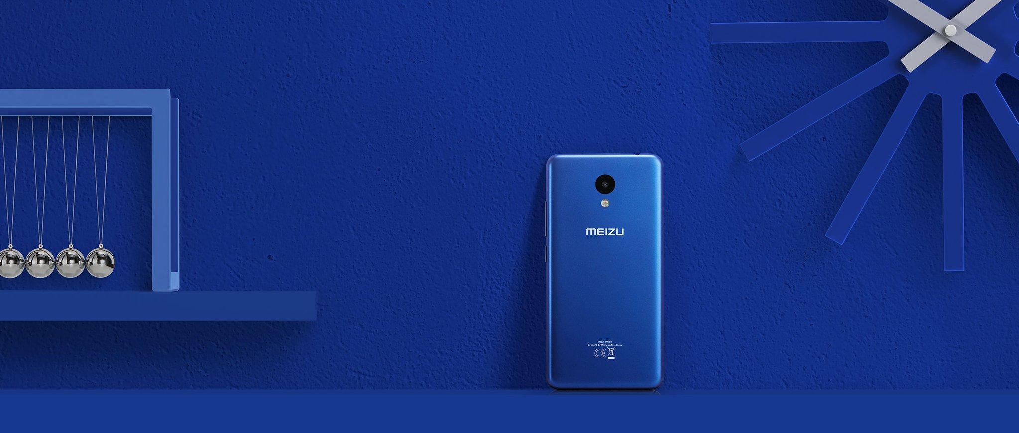 meizu m5c xanh dương
