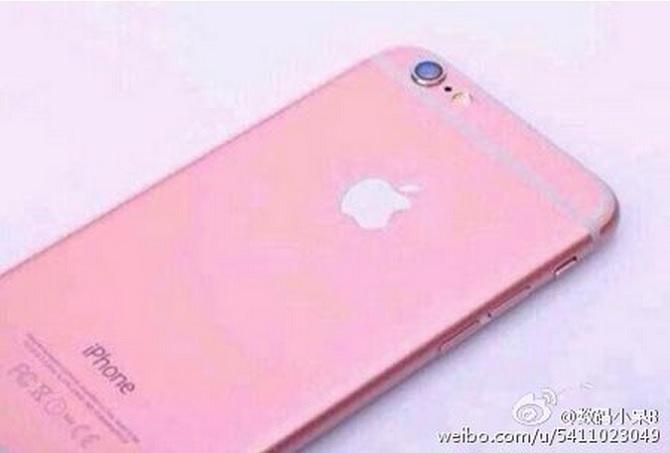 Rò Rỉ Hình ảnh Iphone 6s Phiên Bản Màu Hồng