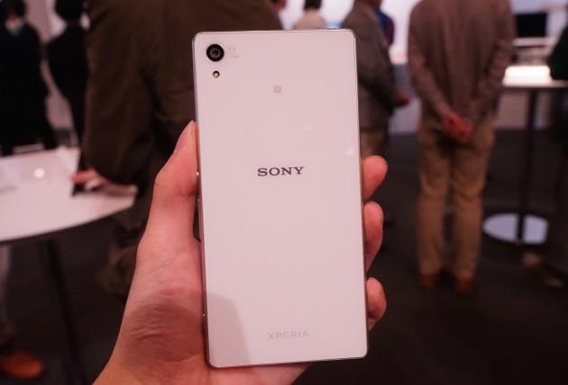 Sony Xperia Z4 thiết kế