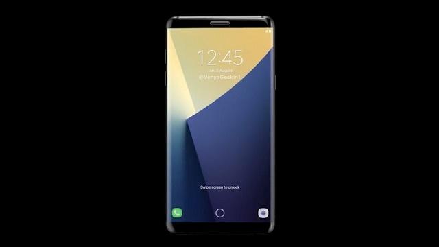 Ảnh được cho là Samsung Galaxy S8