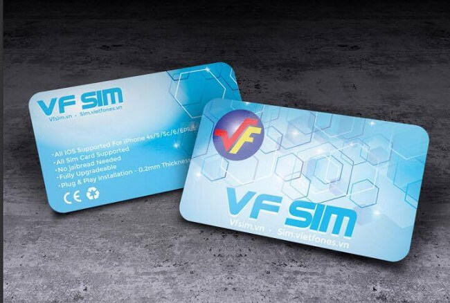 Sim ghép 4G Clubsim, VF SIM 6