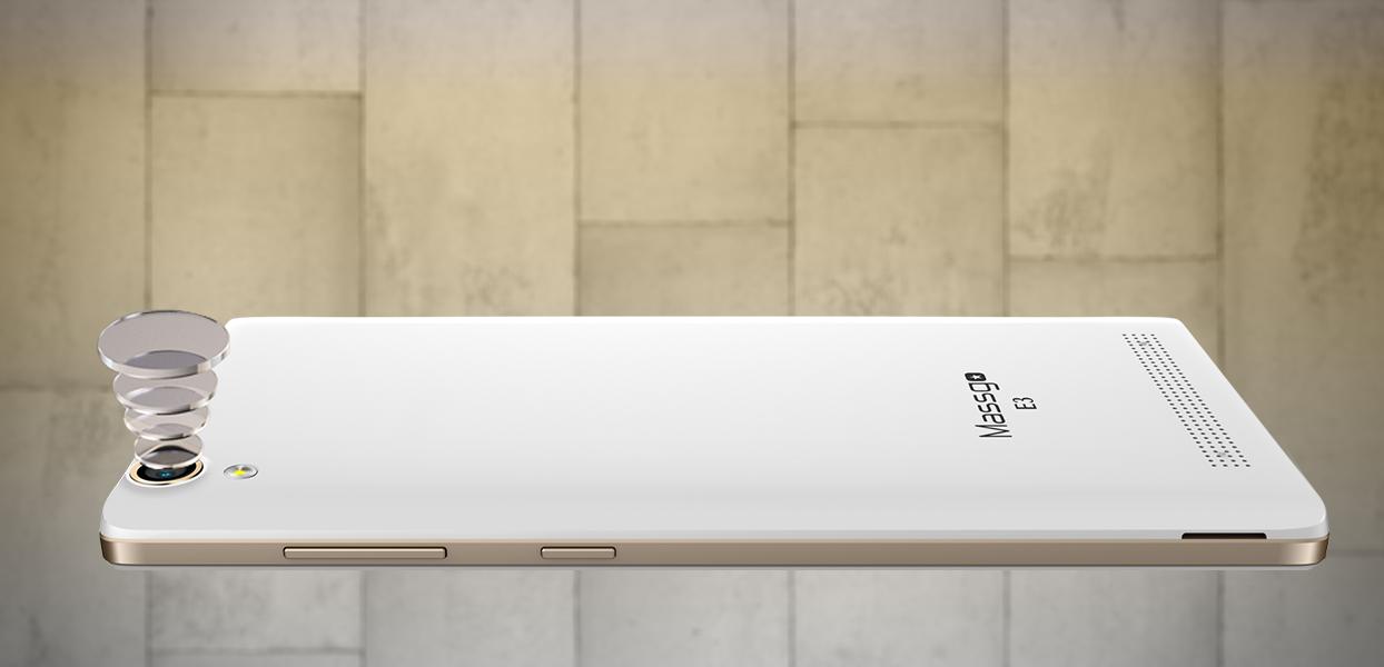Massgo E3 camera chất lượng, sắc nét