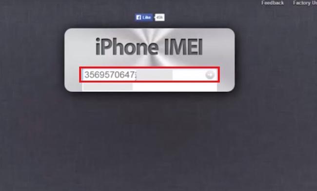 kiểm tra imei iphone 6 lock nhật