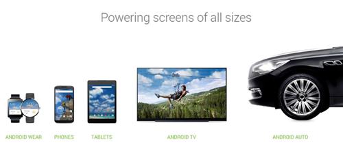 Android rất đa dạng về chủng loại sản phẩm.