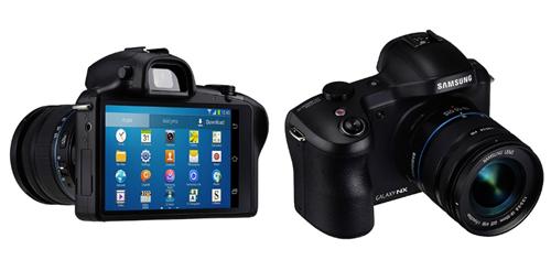 Samsung Galaxy NX sử dụng nền tảng HĐH Android.