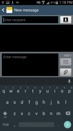 Bàn phím Android 5 Lollipop