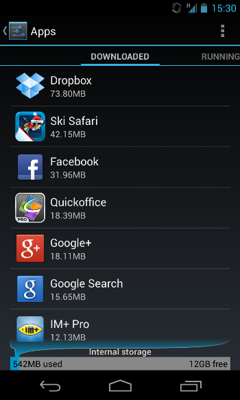 smartphone android chậm dần và cách khắc phục 3