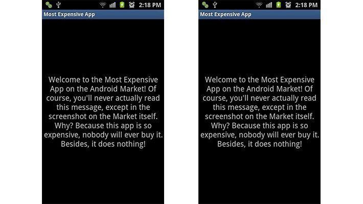 ứng dụng đắt tiền nhất android 4