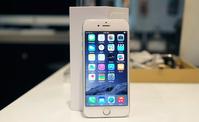 Đánh giá iPhone 6 Lock xách tay màn hình đẹp