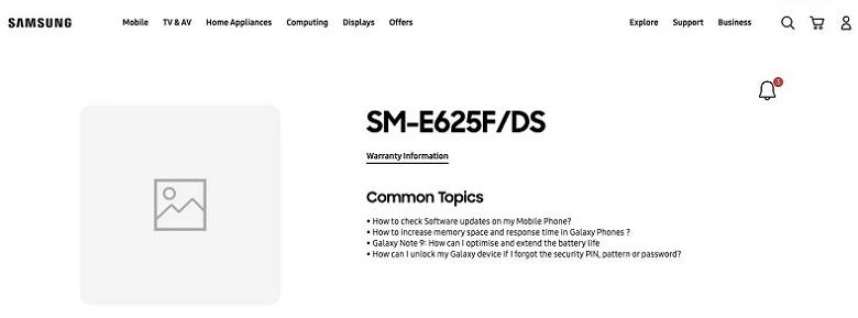 Samsung Galaxy F62 / Galaxy M62 xuất hiện