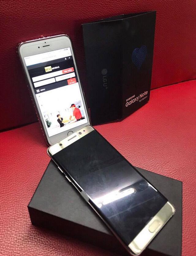Samsung Note Fe bán ra 2
