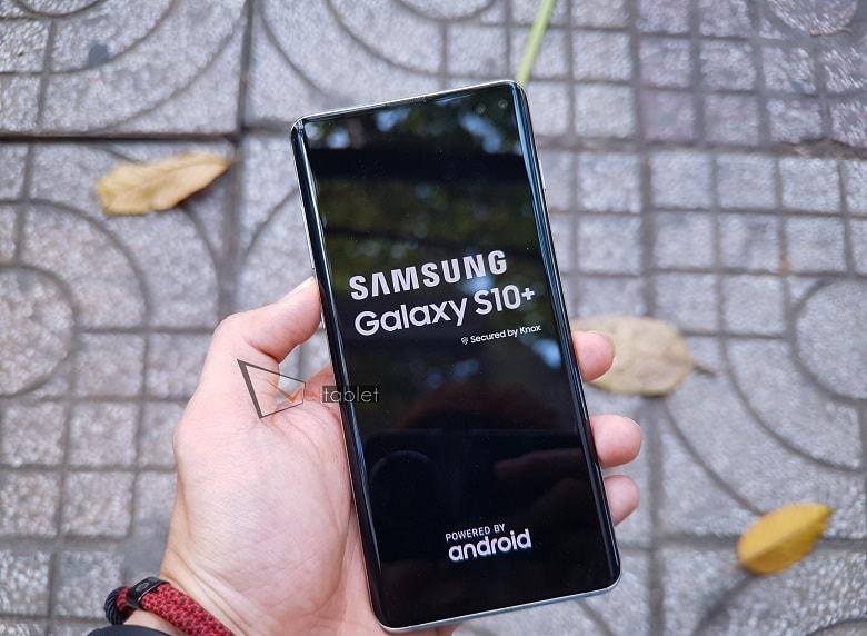 Hình ảnh khởi động Samsung Galaxy S10 Plus