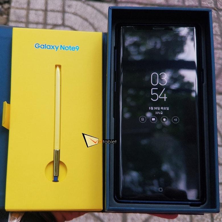 mở hộp Galaxy Note 9 (8GB - 512GB) 2 SIM