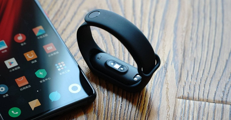 thiết kế của Xiaomi Mi Band 4