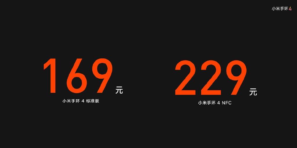 giá của Xiaomi Mi Band 4
