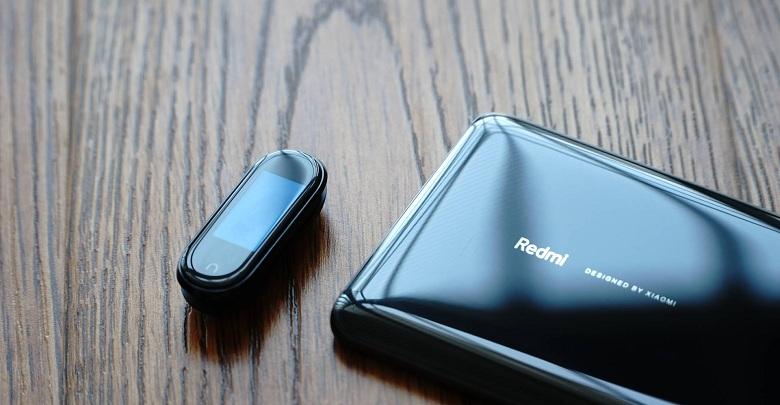 Mặt trước của Xiaomi Mi Band 4