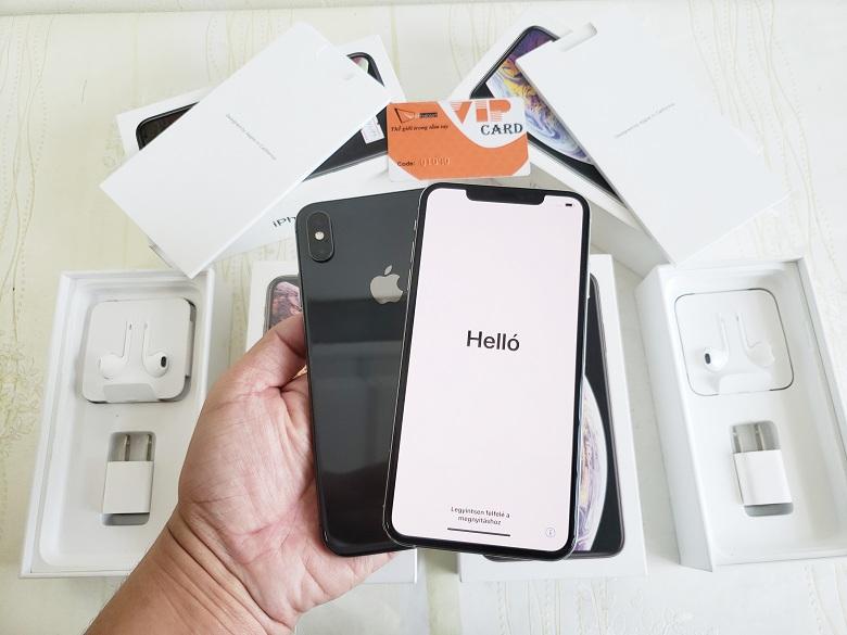 Hình ảnh màn hình iPhone XS Max Lock Mới Chưa Active