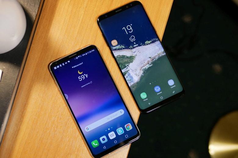 So sánh LG V30 với Samsung Galaxy S8