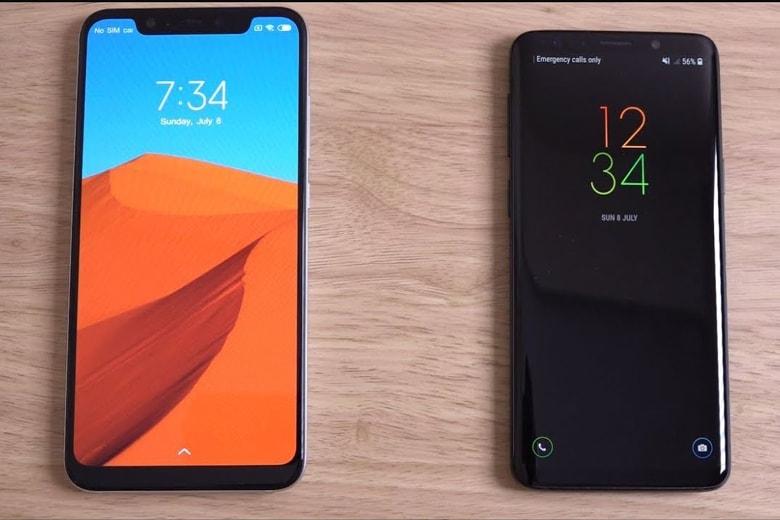So sánh Samsung Galaxy S9 với Xiaomi Mi 8 Pro