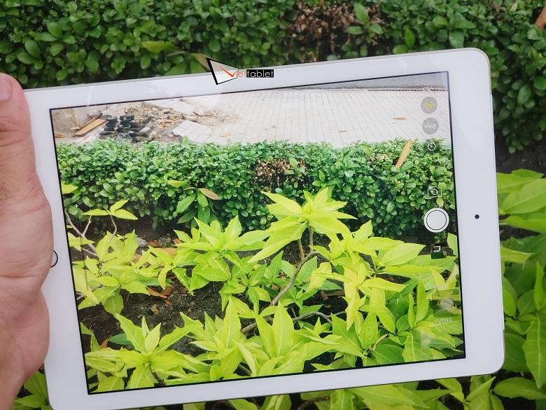 Đây là giao diện chụp ảnh của iPad 9.7 inch 32GB (2017) Gen 5