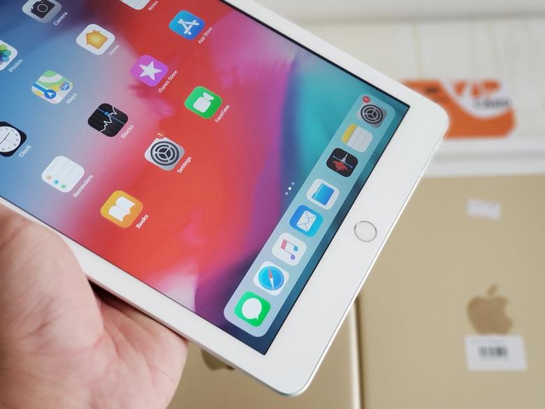 Nút Home của iPad 9.7 inch 32GB (2017) Gen 5 được tích hợp cảm biến vân tay