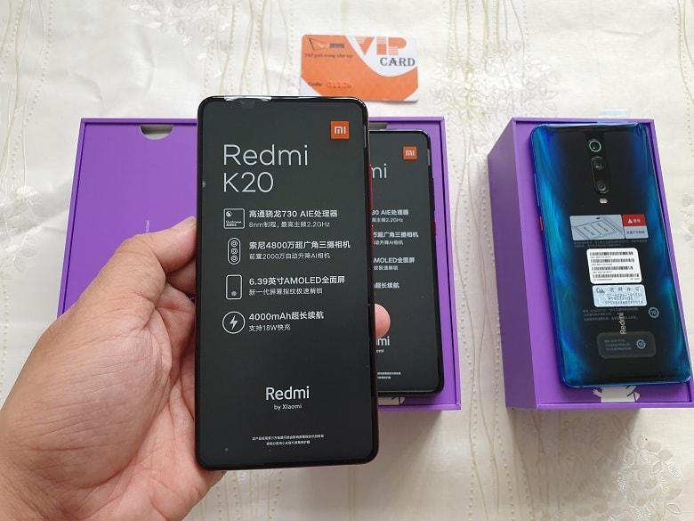 cấu hình Xiaomi Redmi K20