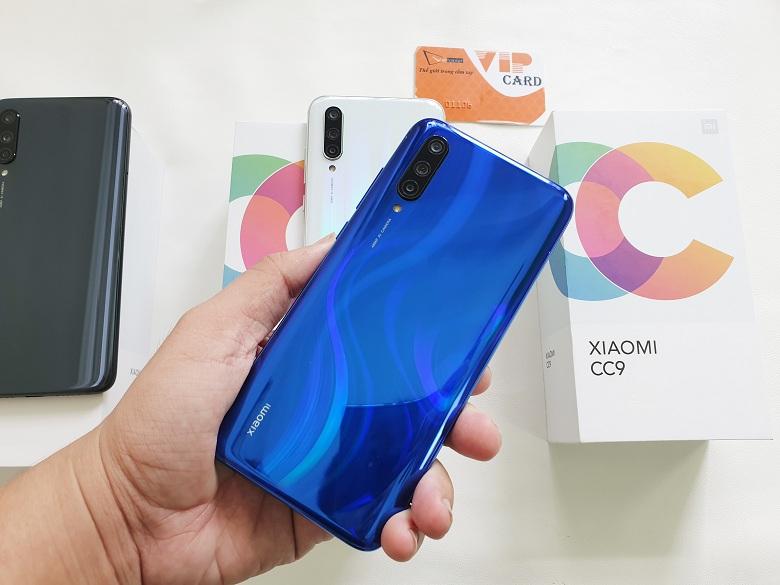 Hình ảnh Xiaomi Mi CC9 màu xanh