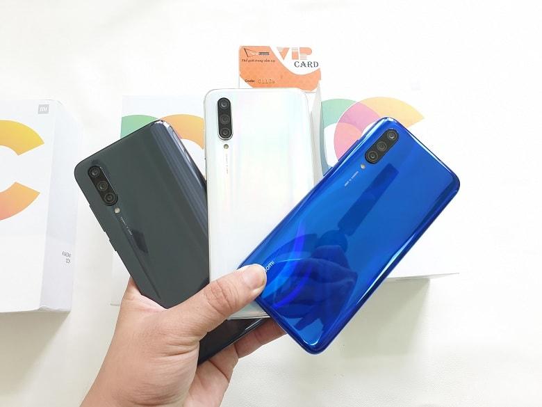 thiết kế Xiaomi Mi CC9
