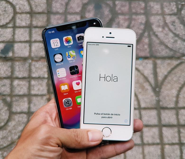 hien-thi-iphone-5s-chua-active-vs-iphone-x-viettablet