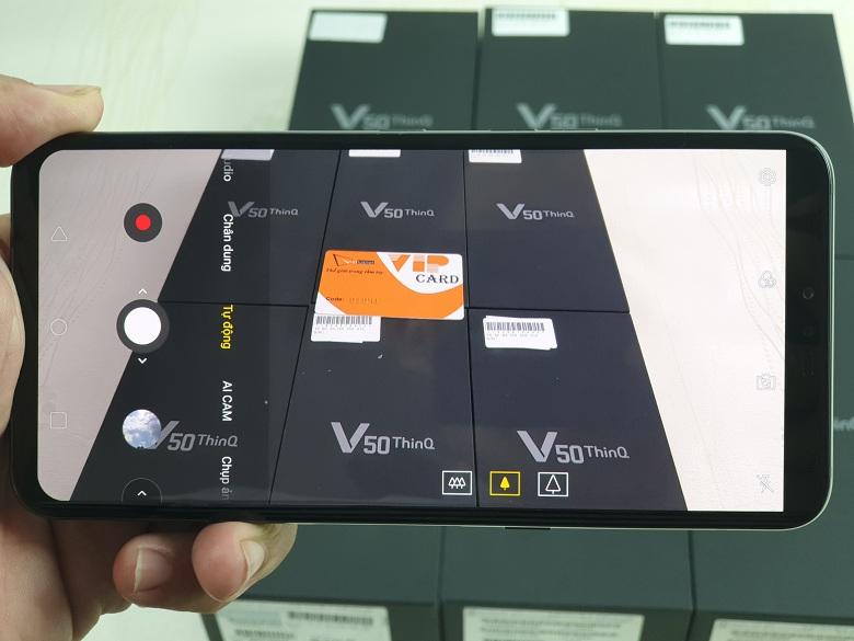 Camera của LG V50