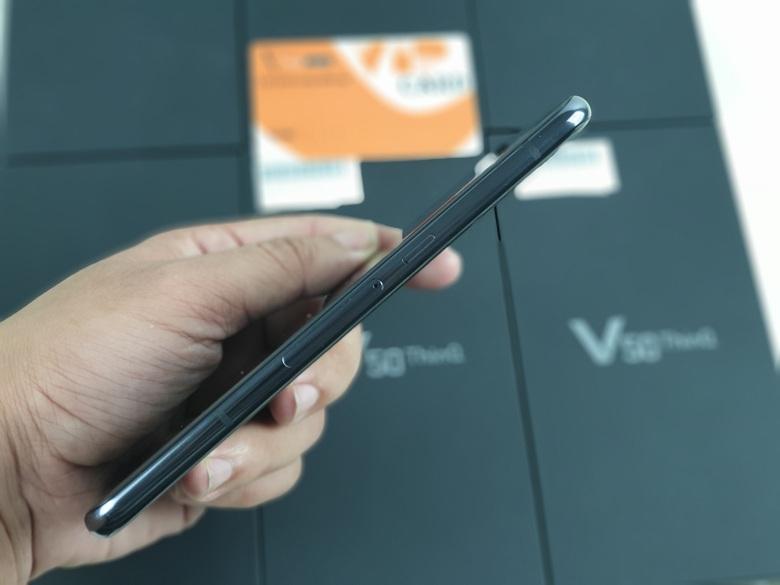 kích thước của LG V50 ThinQ 5G